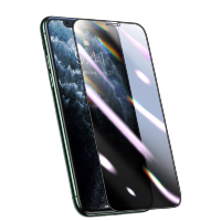 Плёнка Baseus 0.25mm Curved Privacy Антивор для iPhone XR/11 Чёрная