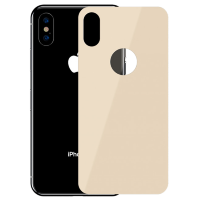 Стекло на крышку Baseus 0.3mm Full-glass Back Tempered Glass Film для iPhone Xs Золото